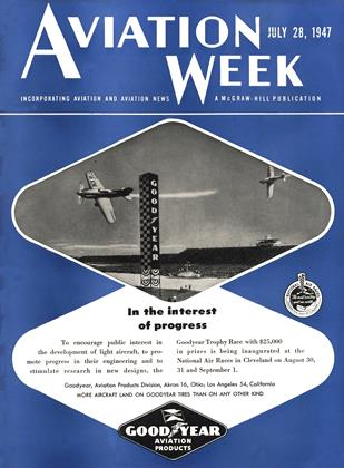 Cover for the July 28 1947 issue