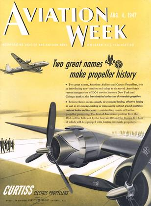 Cover for the August 4 1947 issue