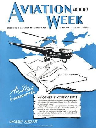 Cover for the August 18 1947 issue