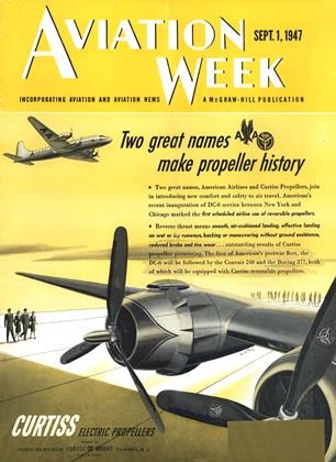 Cover for the September 1 1947 issue