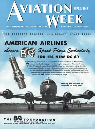Cover for the September 8 1947 issue