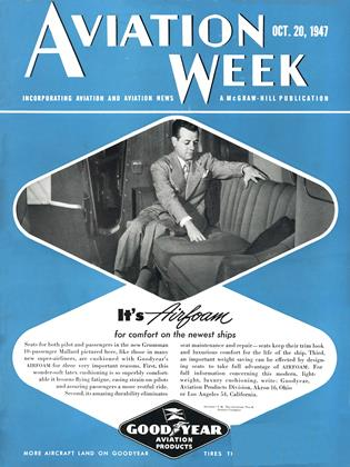 Cover for the October 20 1947 issue