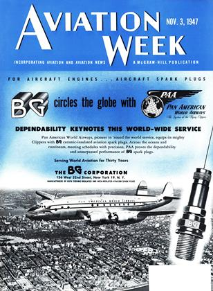 Cover for the November 3 1947 issue