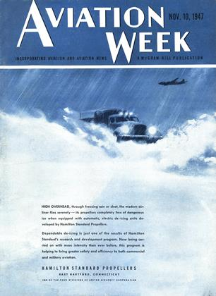 Cover for the November 10 1947 issue