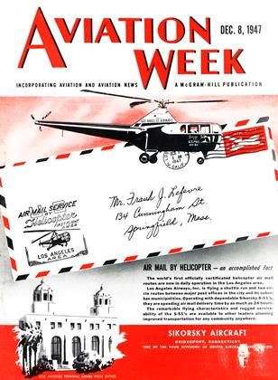Cover for the December 8 1947 issue