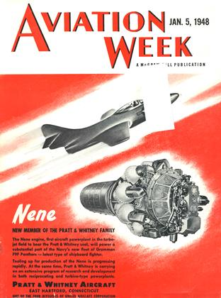 Cover for the January 5 1948 issue