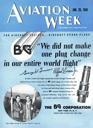 Cover for the January 26 1948 issue