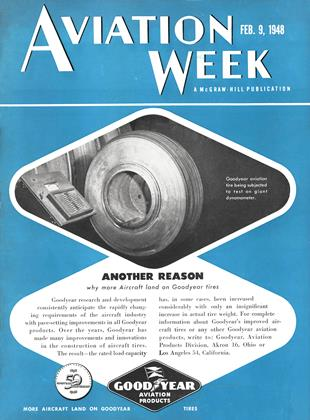 Cover for the February 9 1948 issue