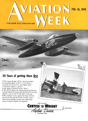 Cover for the February 16 1948 issue