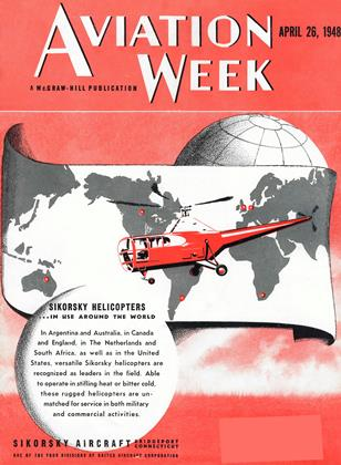 Cover for the April 26 1948 issue