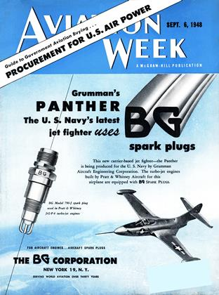 Cover for the September 6 1948 issue