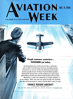 Cover for the October 11 1948 issue