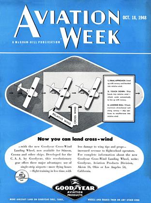 Cover for the October 18 1948 issue