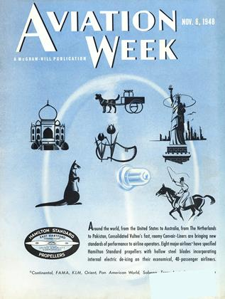 Cover for the November 8 1948 issue