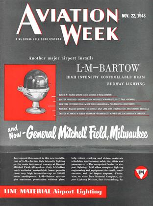 Cover for the November 22 1948 issue