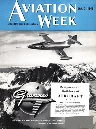 Cover for the January 3 1949 issue