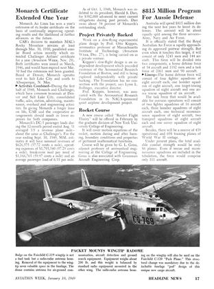 Project Privately Backed, Page: 17 - JAN. 10, 1949 | Aviation Week