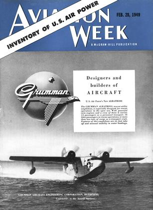 Cover for the February 28 1949 issue