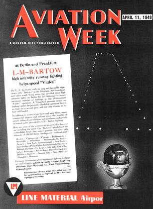 Cover for the April 11 1949 issue