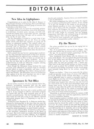 New Idea in Lightplanes, Page: 66 - MAY 16, 1949 | Aviation Week