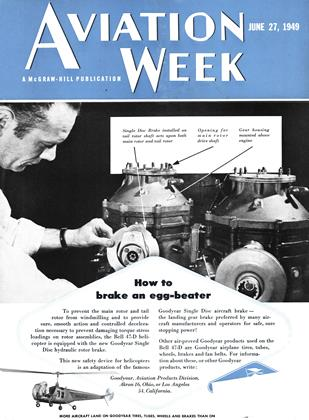 Cover for the June 27 1949 issue
