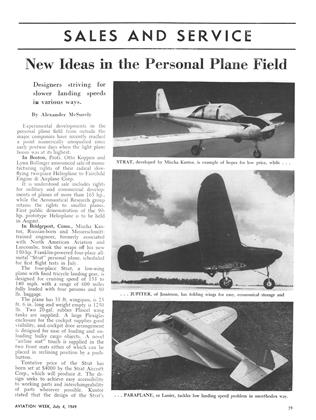 New Ideas in the Personal Plane Field, Page: 39 - JULY 4, 1949 | Aviation Week