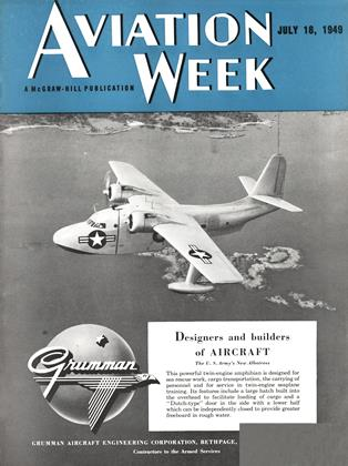 Cover for the July 18 1949 issue