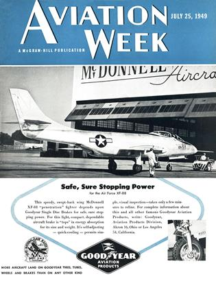 Cover for the July 25 1949 issue