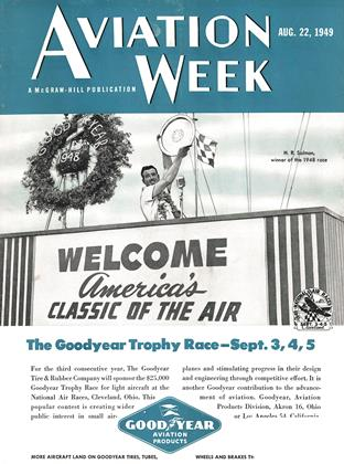 Cover for the August 22 1949 issue
