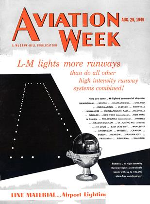 Cover for the August 29 1949 issue