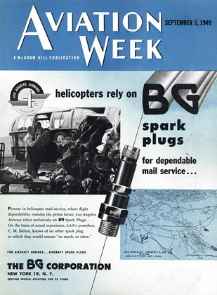 Cover for the September 5 1949 issue