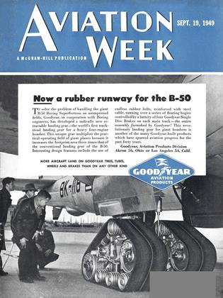Cover for the September 19 1949 issue