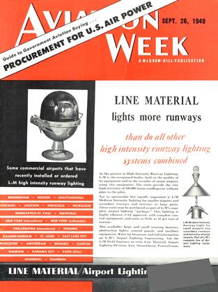 Cover for the September 26 1949 issue