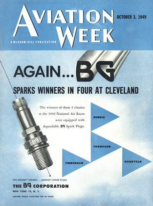 Cover for the October 3 1949 issue