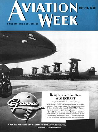 Cover for the October 10 1949 issue