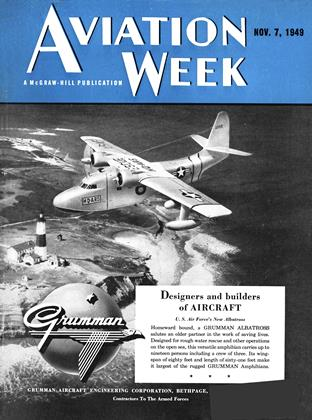 Cover for the November 7 1949 issue