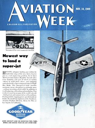 Cover for the November 14 1949 issue
