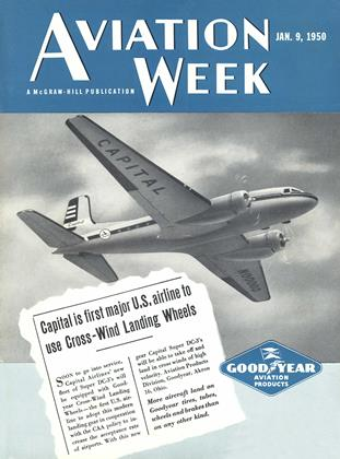 Cover for the January 9 1950 issue