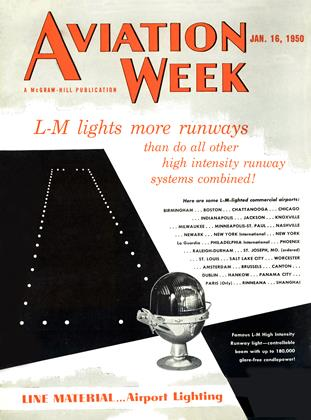 Cover for the January 16 1950 issue
