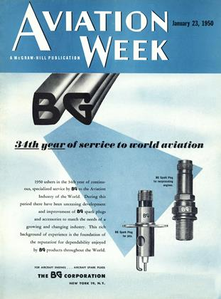 Cover for the January 23 1950 issue
