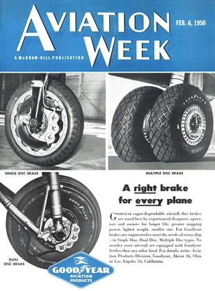 Cover for the February 6 1950 issue
