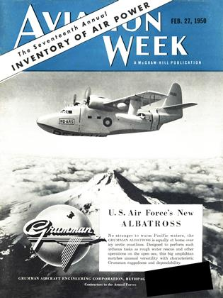 Cover for the February 27 1950 issue