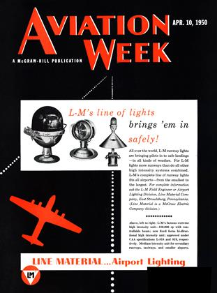 Cover for the April 10 1950 issue