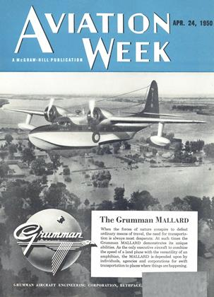 Cover for the April 24 1950 issue