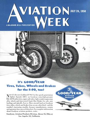 Cover for the July 24 1950 issue