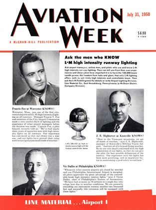 Cover for the July 31 1950 issue