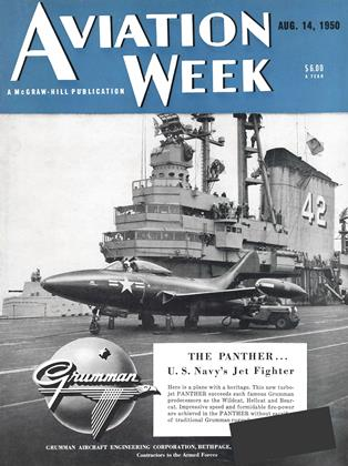 Cover for the August 14 1950 issue