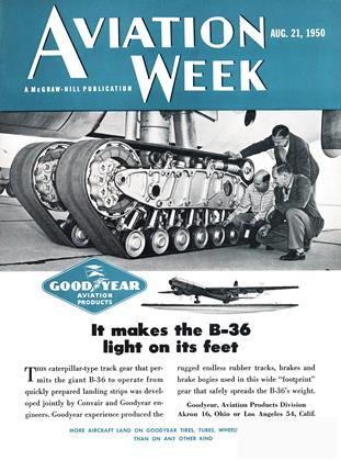 Cover for the August 21 1950 issue