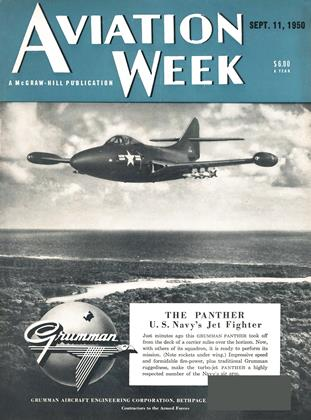 Cover for the September 11 1950 issue