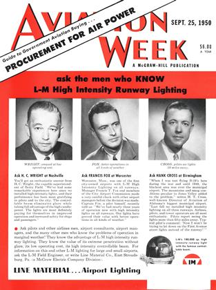 Cover for the September 25 1950 issue